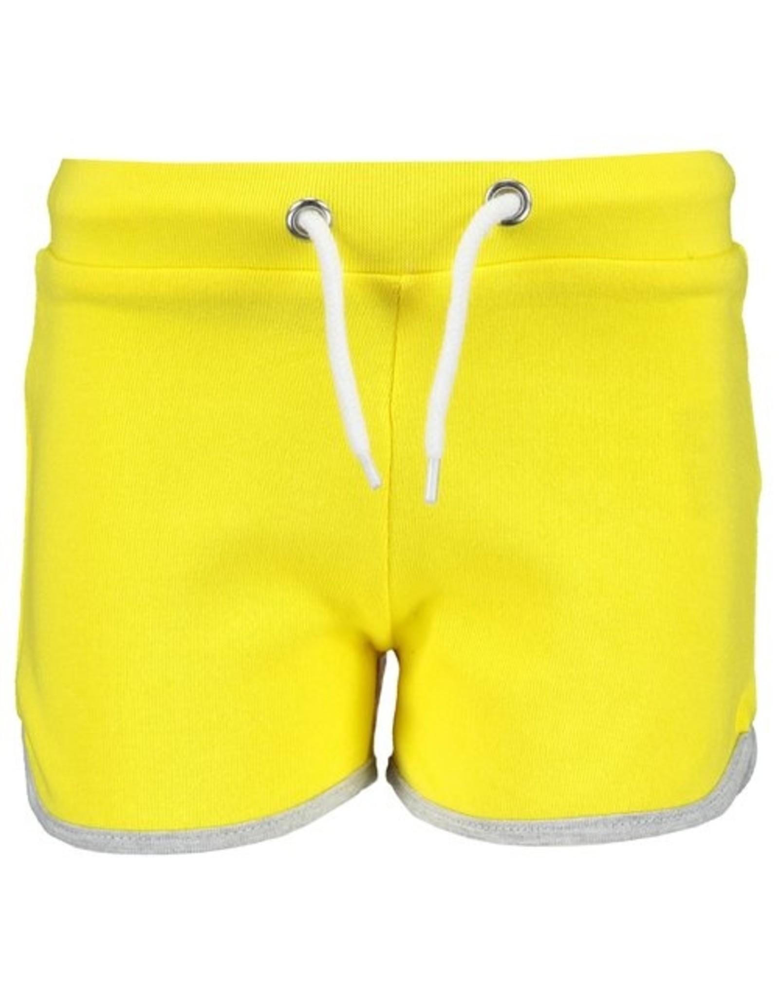 Blue Seven Blue Seven meisjes korte joggingbroek Fun Panda Yellow