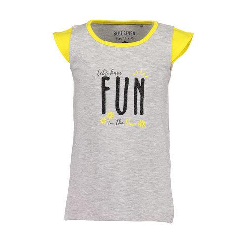 Blue Seven Blue Seven meisjes t-shirt Fun Panda Fog