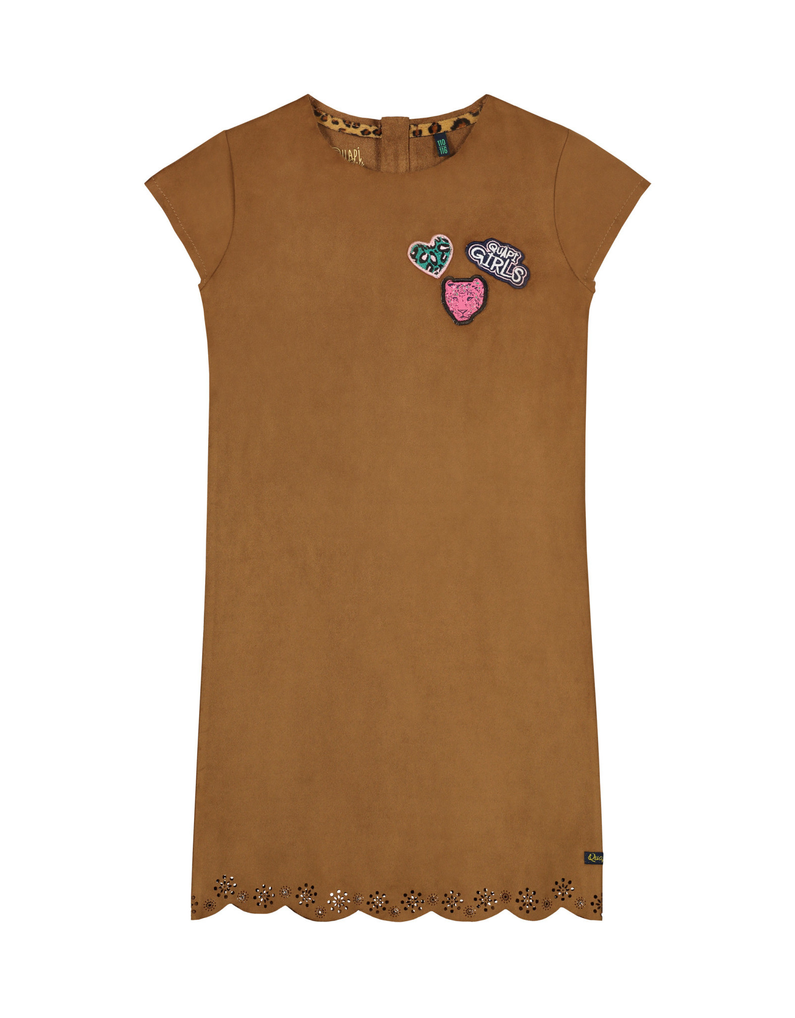 Quapi meisjes jurk Aloha Brown