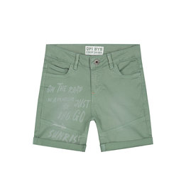 Quapi jongens korte broek Ashwin Cactus Green