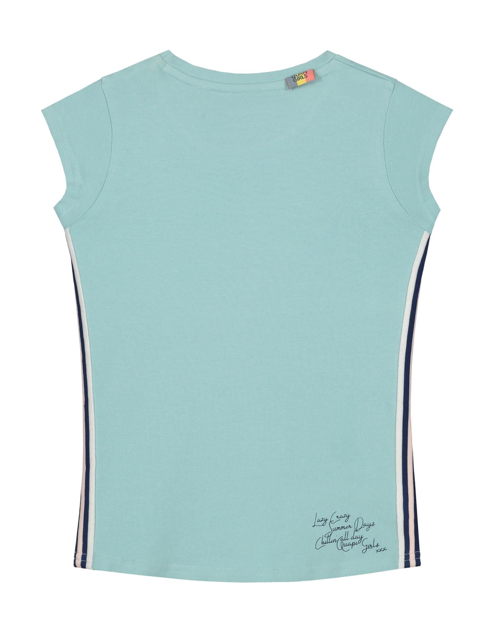 Quapi meisjes t-shirt Alfje Moss