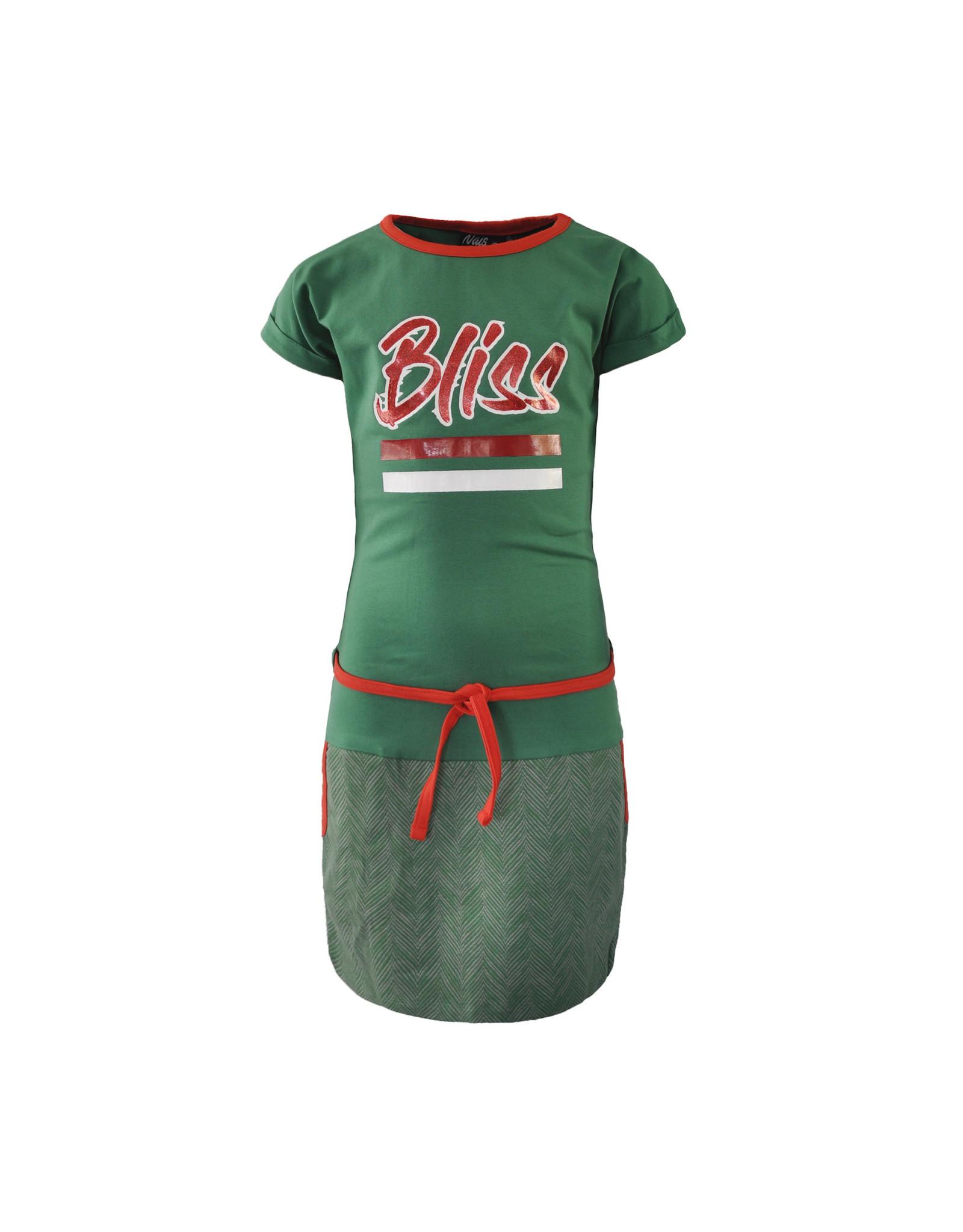 NAIS NAIS meisjes jurk Eline Bottle