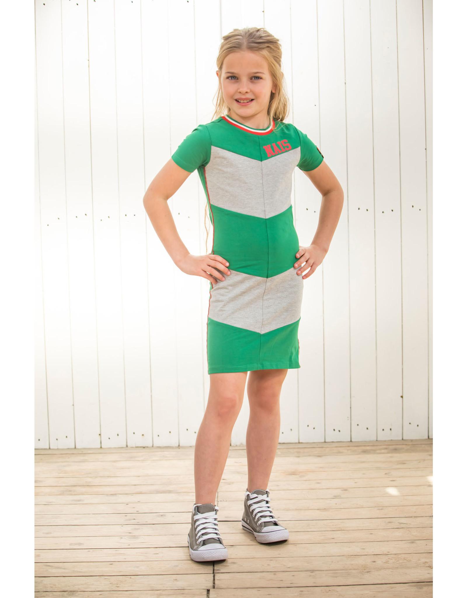 NAIS NAIS meisjes korte mouwen jurk Eby Bottle