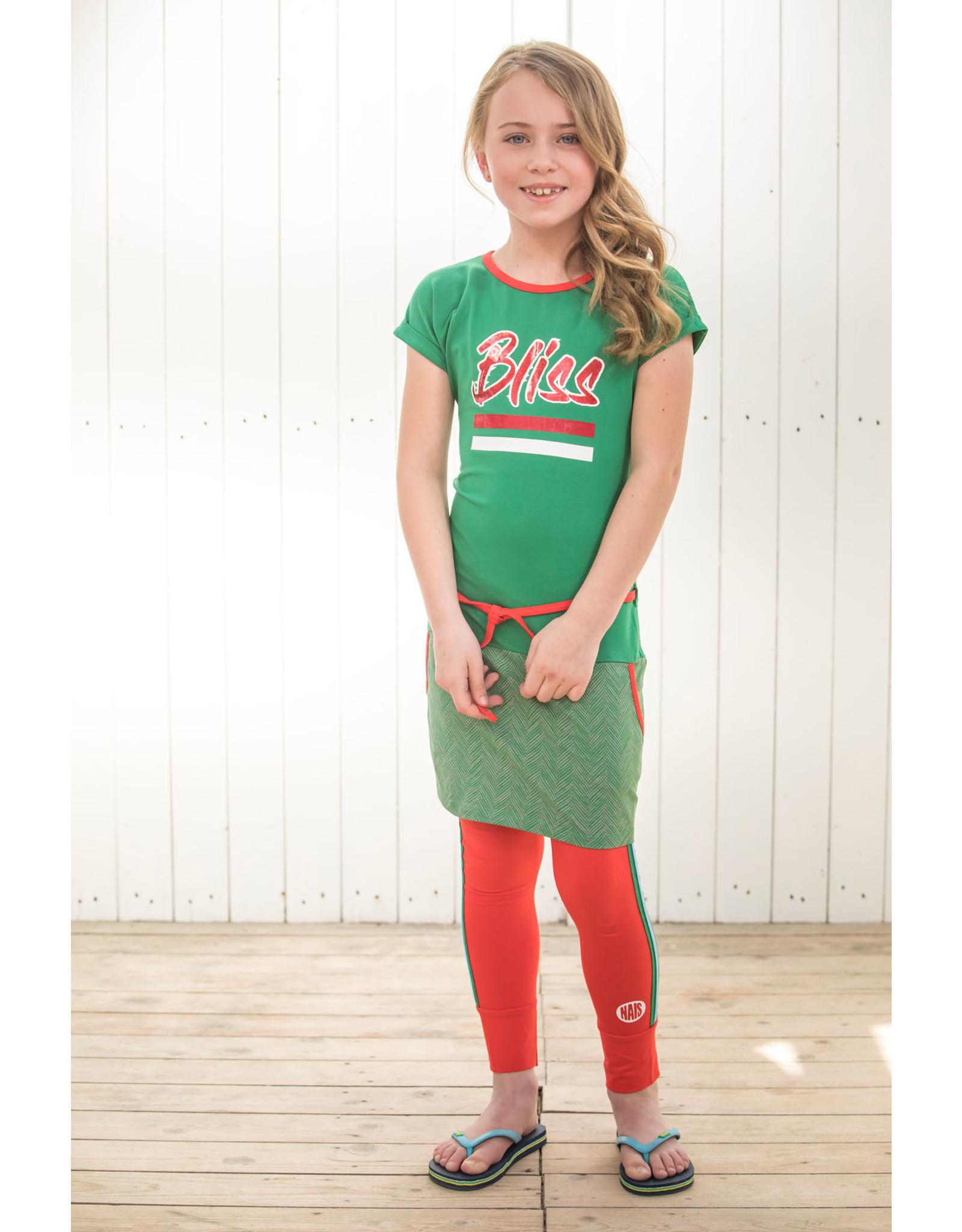 NAIS NAIS meisjes legging Esther Red