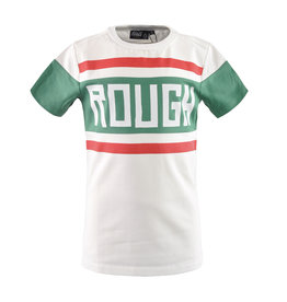 NAIS NAIS jongens t-shirt Elvis Off-White Green