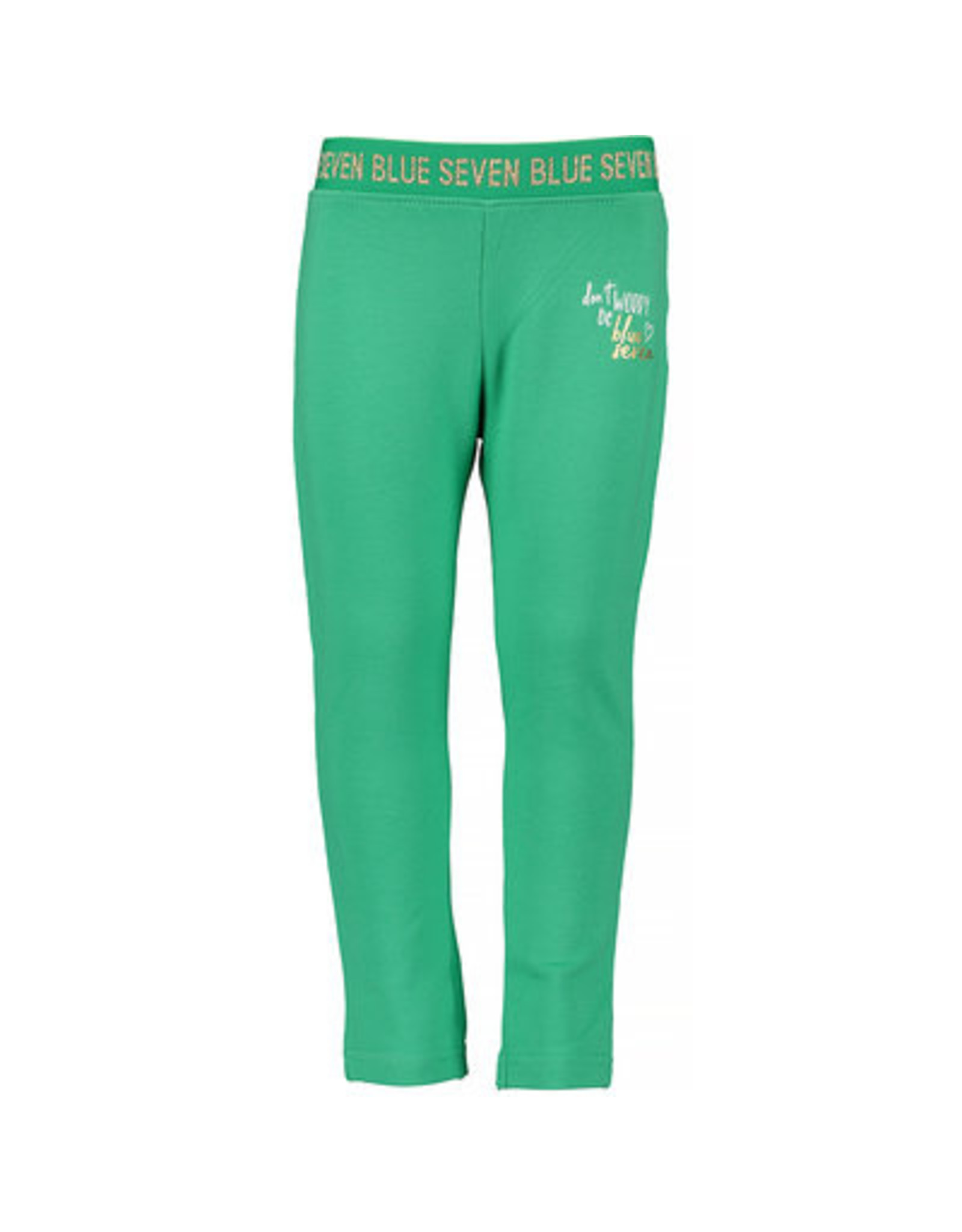 Blue Seven Blue Seven meisjes legging Shiny Brand Green