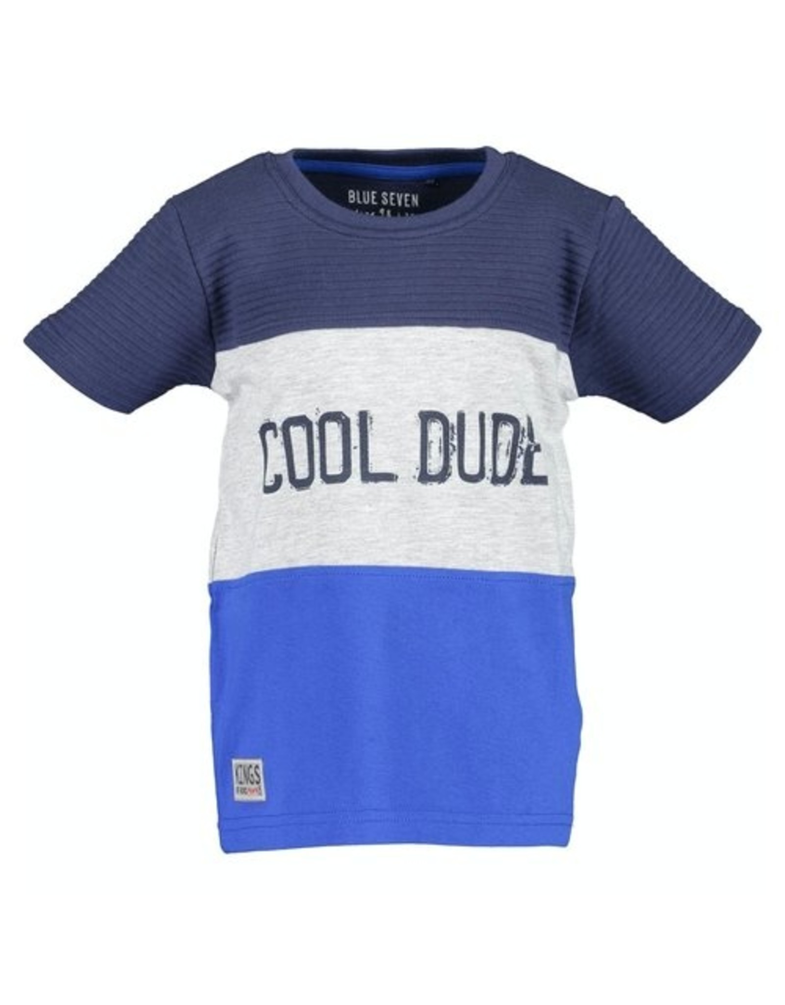 Blue Seven Blue Seven jongens t-shirt Xtreme Cars Ocean