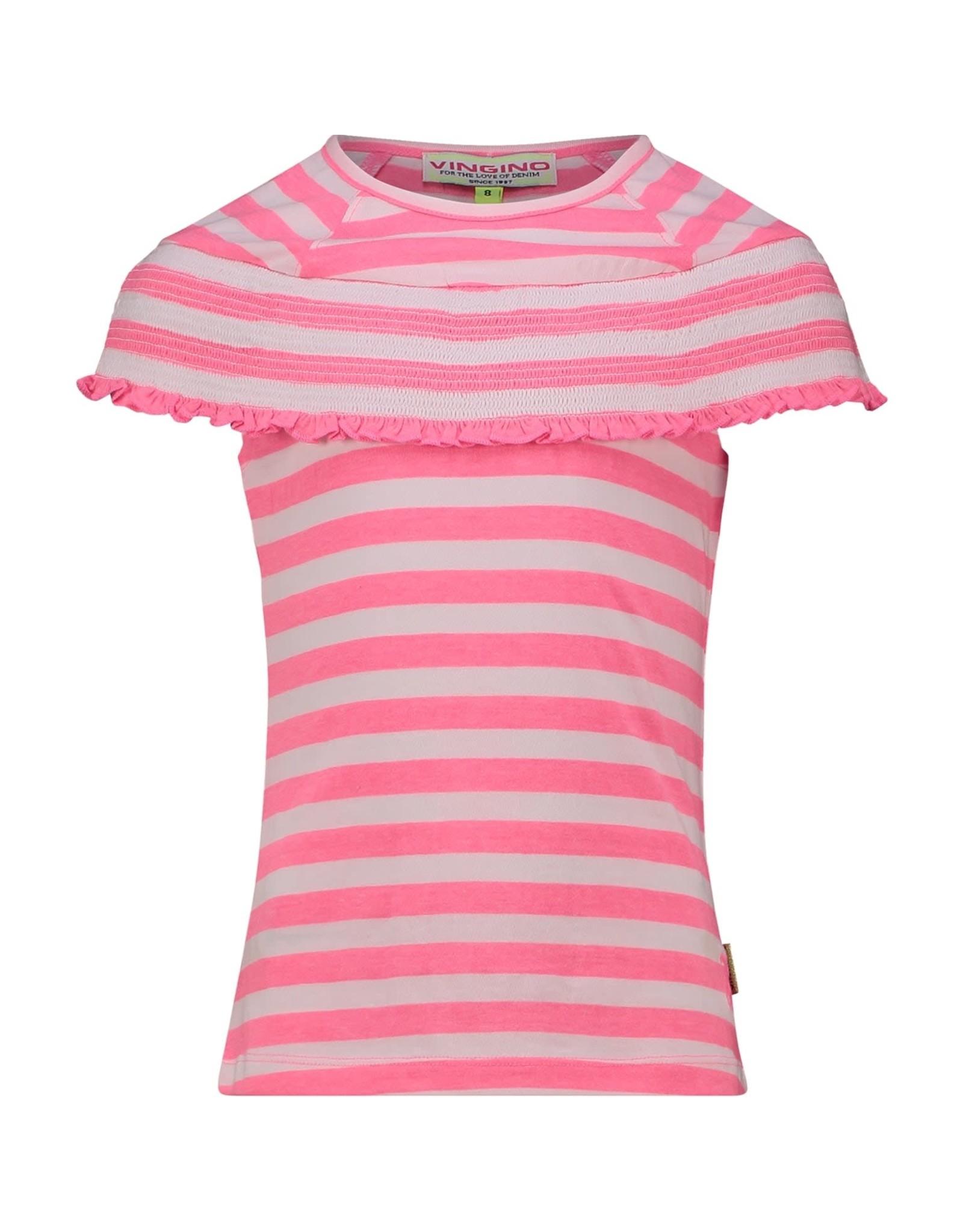 Vingino Vingino meiden t-shirt Hinkse Neon Pink
