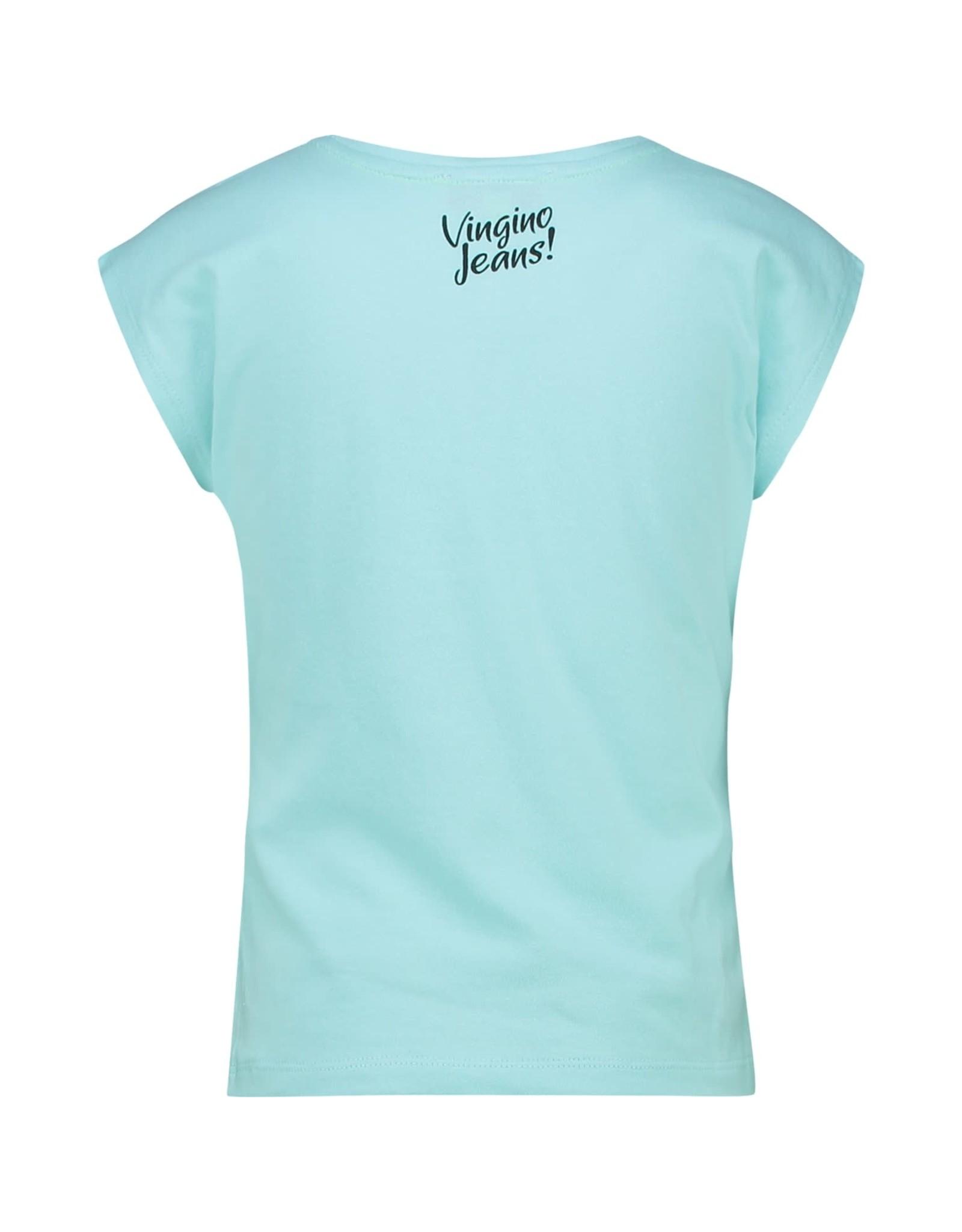 Vingino Vingino meiden t-shirt Hestyne Cloudy Blue