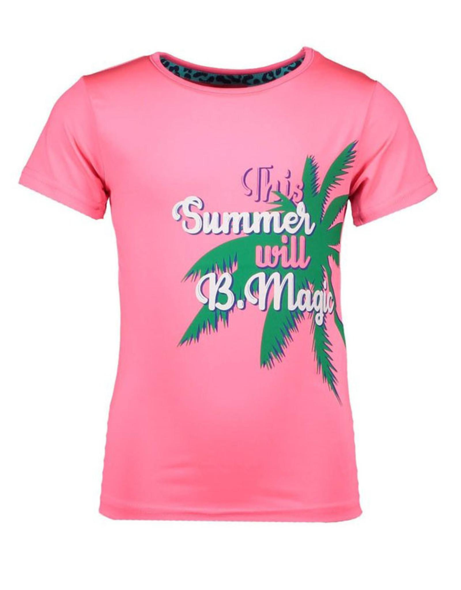 B.Nosy meisjes t-shirt met palmboom Festival Pink