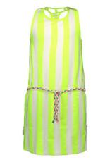 B.Nosy meisjes gestreepte jurk Safety Yellow Stripe