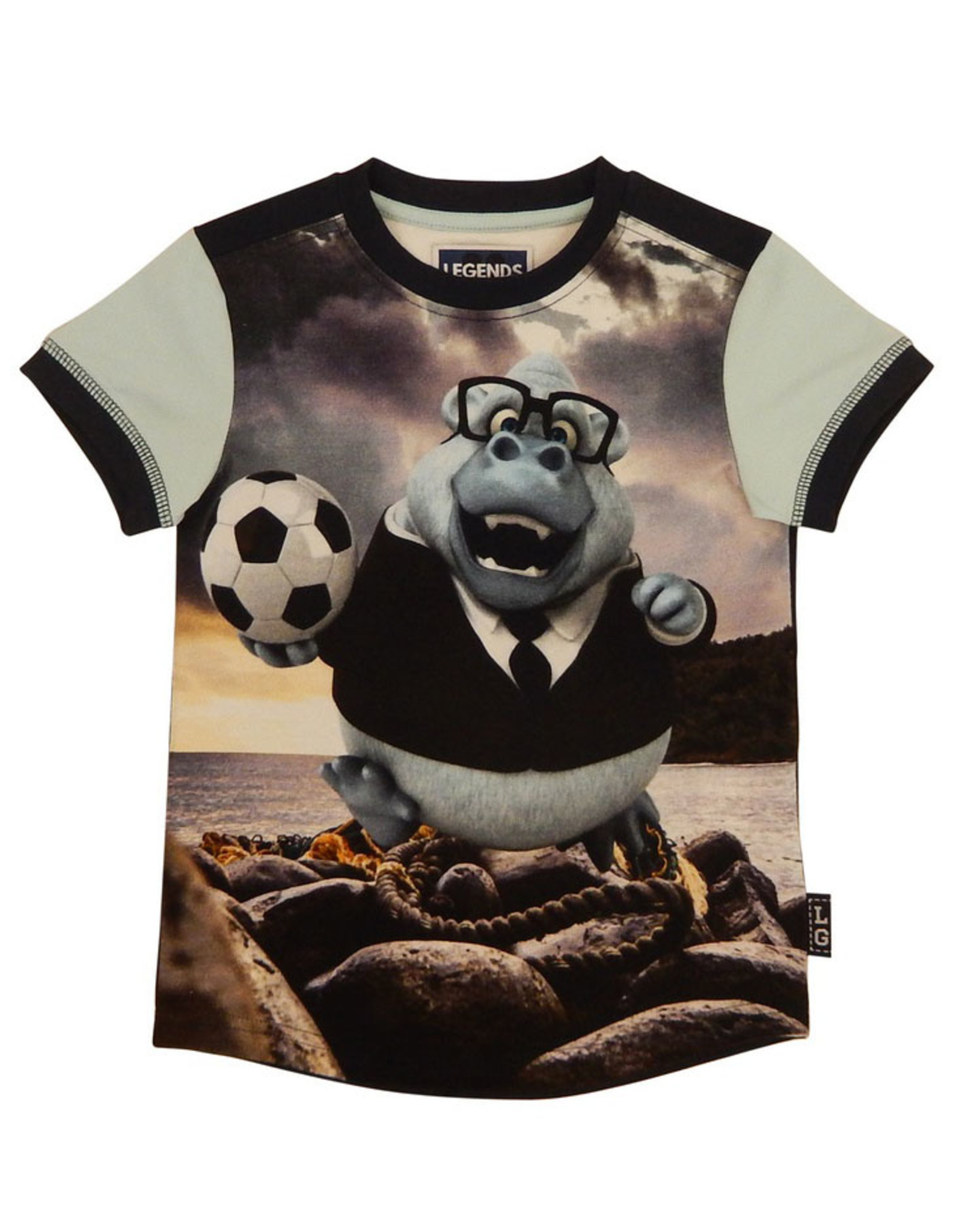 Legends jongens t-shirt Hippo
