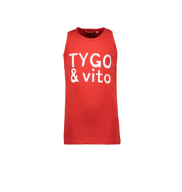 TYGO & vito TYGO & vito jongens hemd Logo Red
