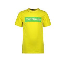 TYGO & vito TYGO & vito jongens t-shirt Logo Yellow