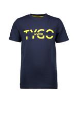 TYGO & vito TYGO & vito jongens t-shirt Logo Navy