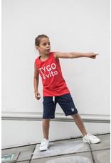 TYGO & vito TYGO & vito jongens korte joggingbroek Navy