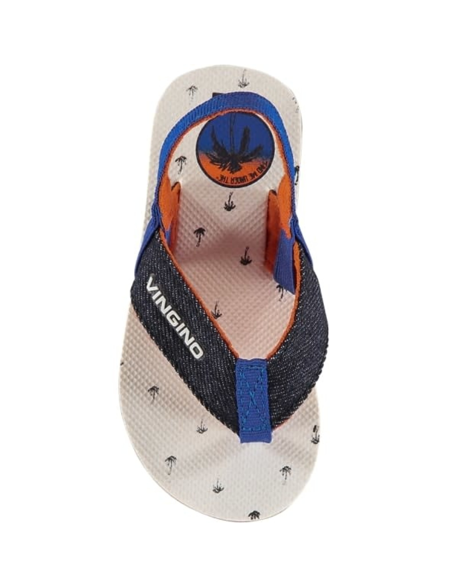 Vingino Vingino baby jongens slippers Jax Blue
