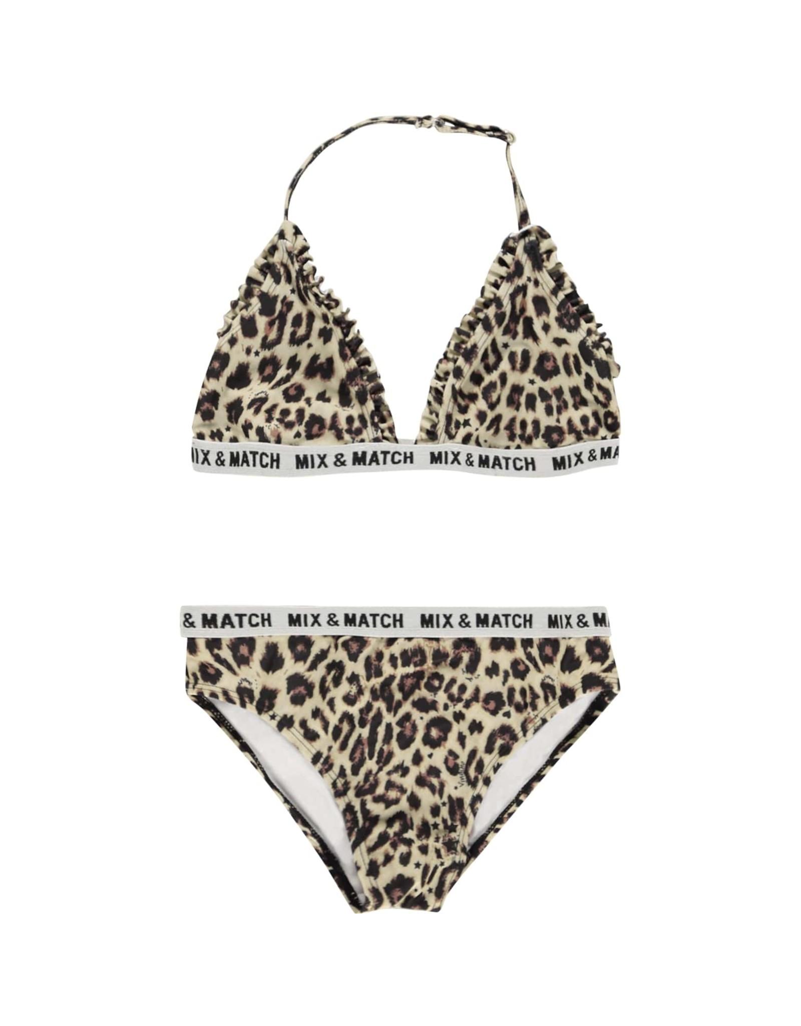 Vingino Vingino meiden bikini Zichelle Multicolor Brown