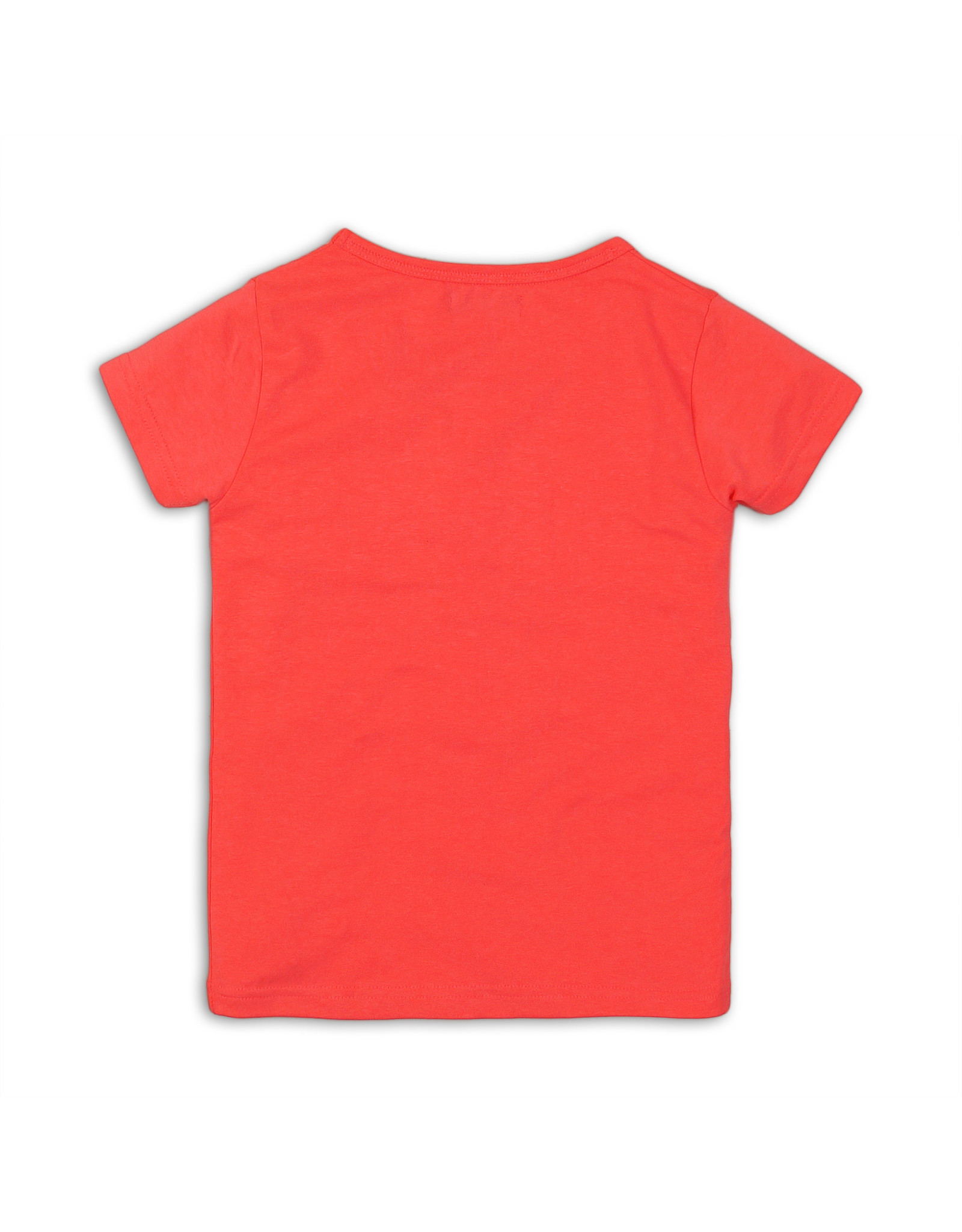 DJ Dutchjeans DJ Dutchjeans meisjes t-shirt Stay Chic Neon Pink