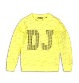 DJ Dutchjeans DJ Dutchjeans jongens sweater DJ Neon Yellow