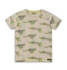 DJ Dutchjeans DJ Dutchjeans jongens t-shirt Animals Grey
