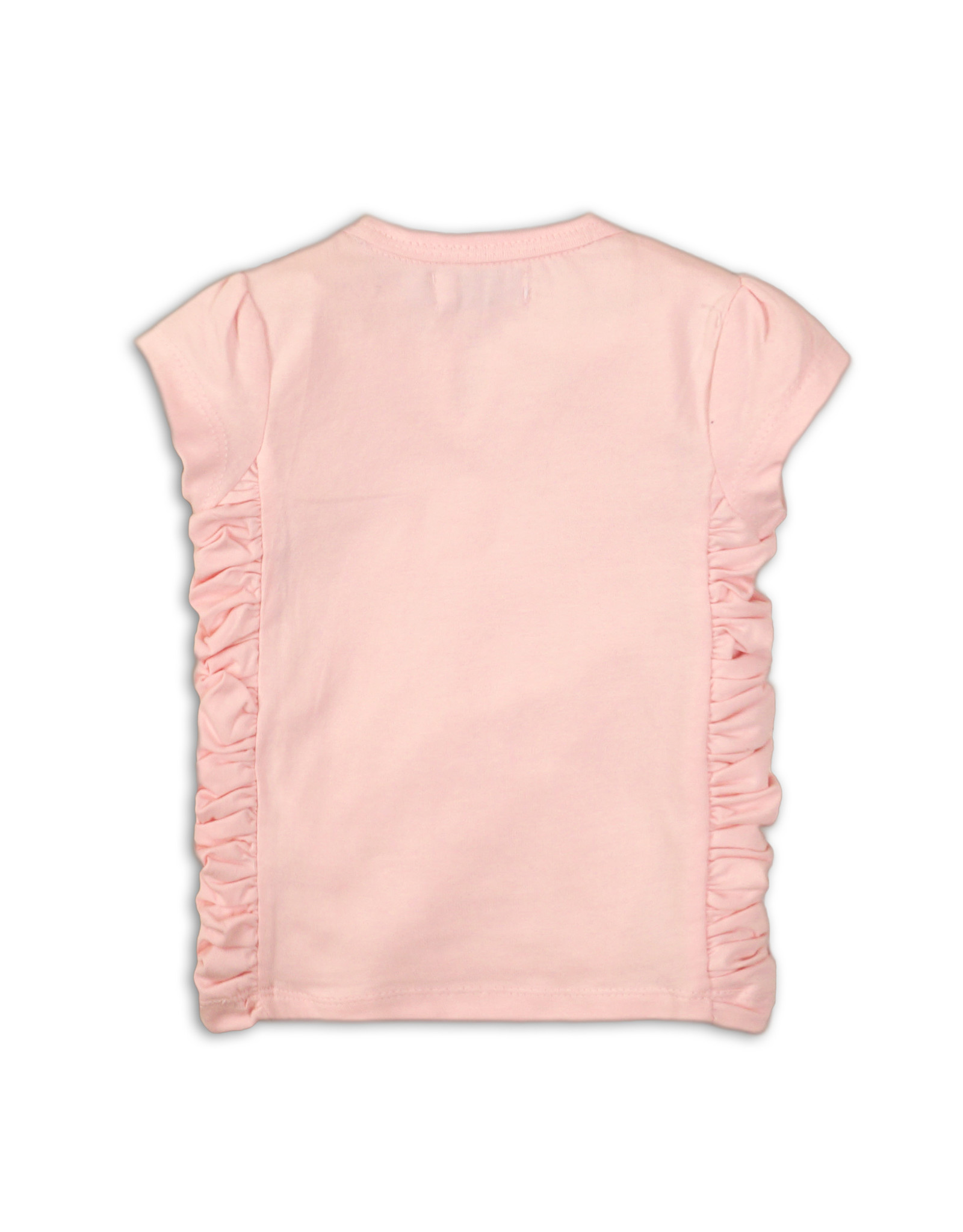 Dirkje Dirkje baby meisjes t-shirt Hearts Light Pink