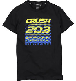 Crush Denim Crush Denim jongens t-shirt Toronto Black