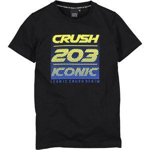 Crush Denim Crush Denim jongens t-shirt Toronto Black