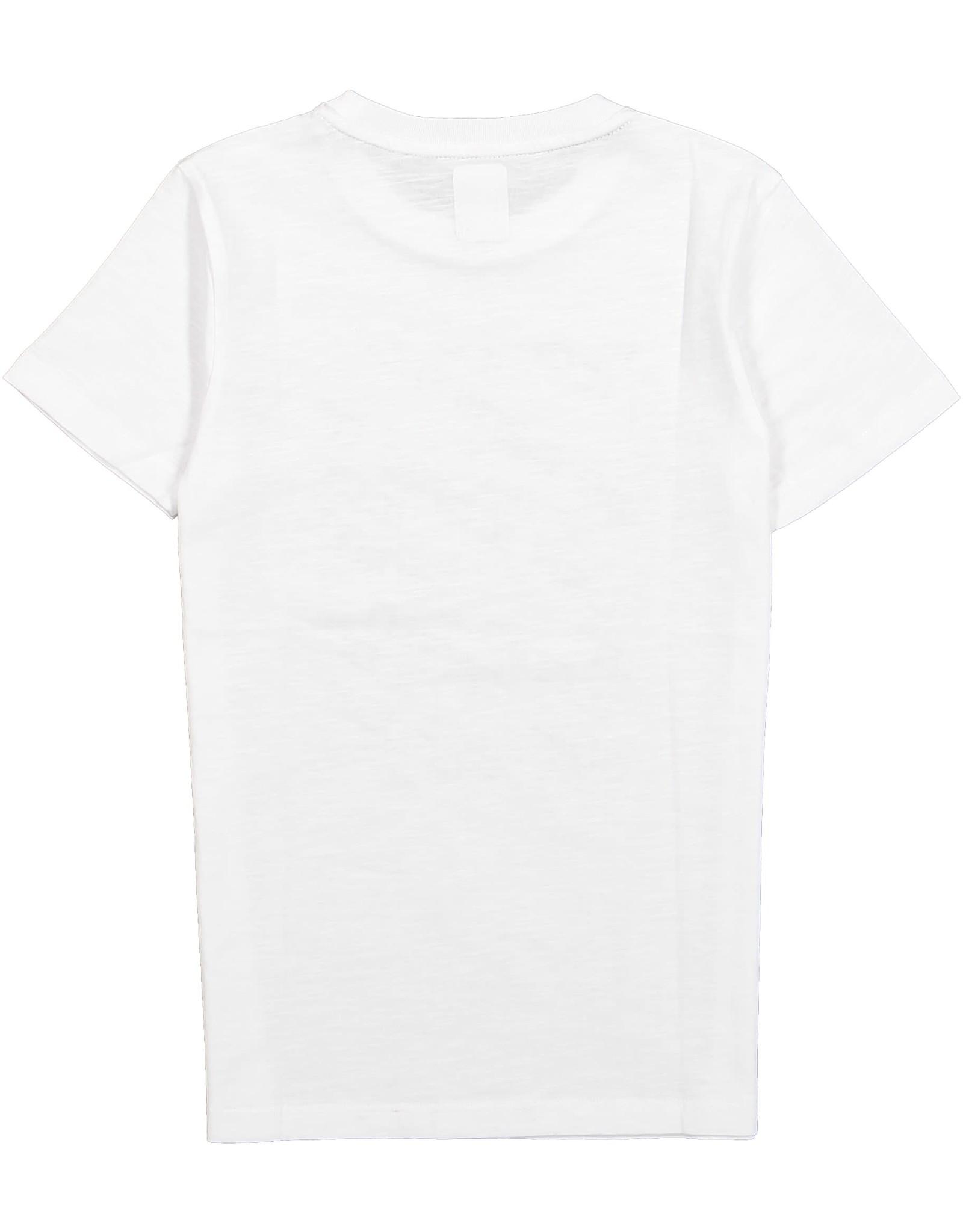 Crush Denim Crush Denim jongens t-shirt Tortolita White