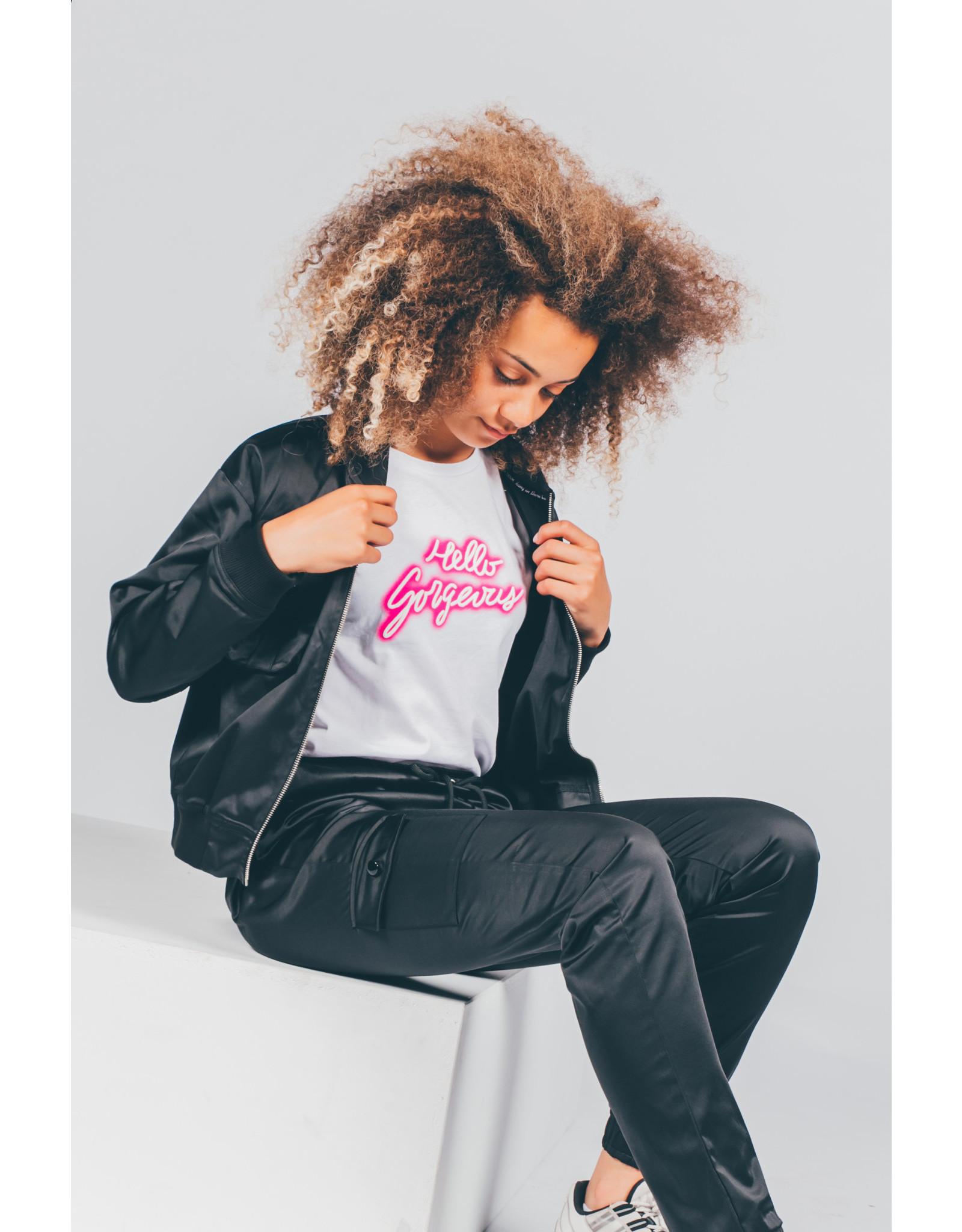 Crush Denim Crush Denim meiden t-shirt Tipper White