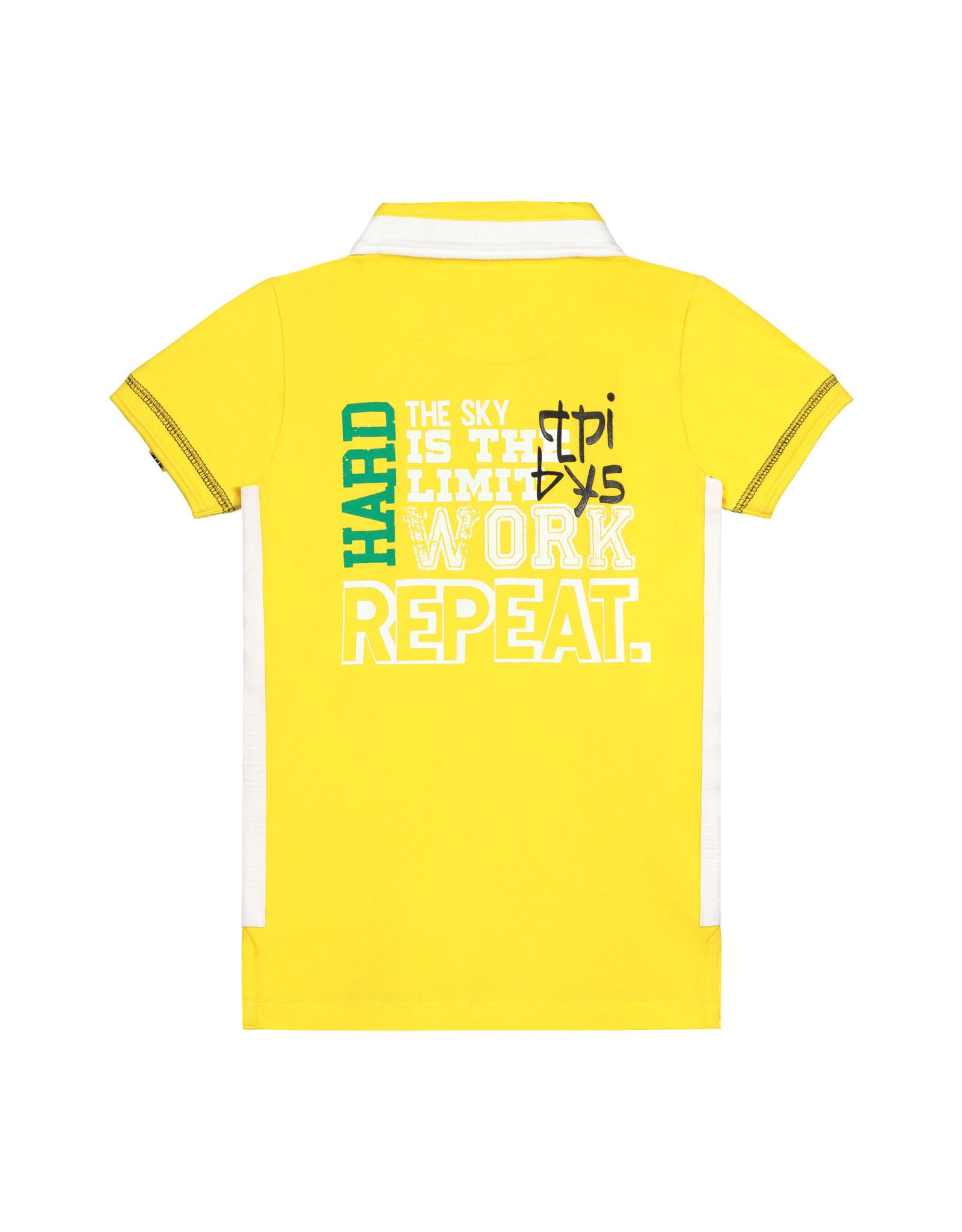 Quapi Quapi jongens korte polo t-shirt Albert