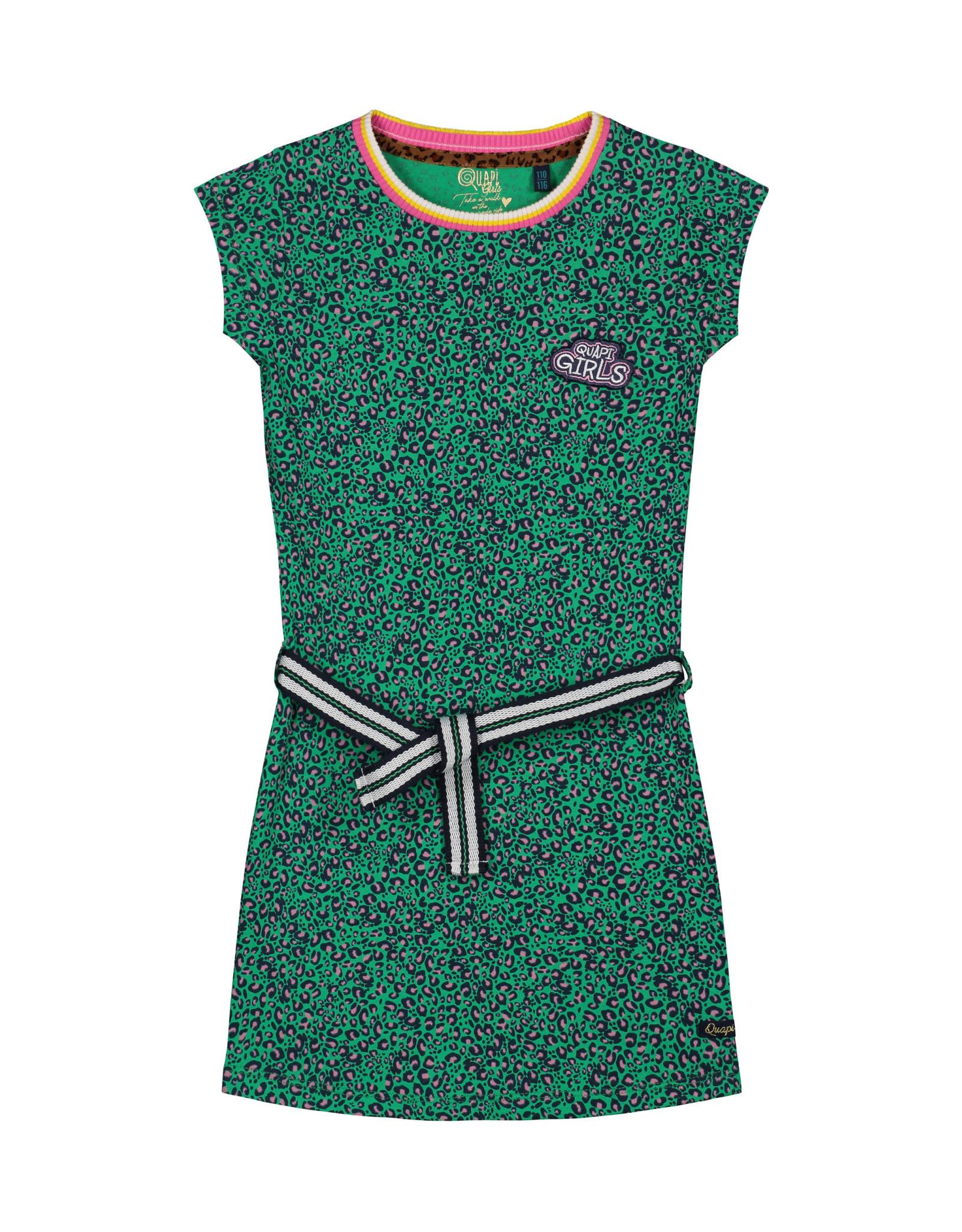Quapi Quapi meisjes jurk Aafje Green