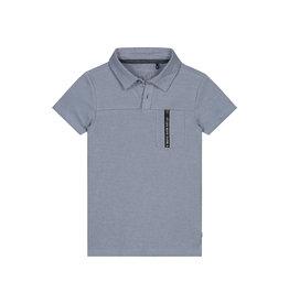LEVV Levv jongens polo t-shirt Foppe Blue Stone