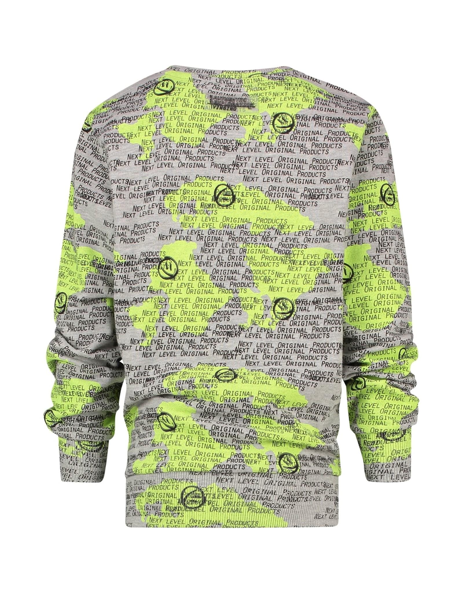 Vingino Vingino jongens sweater Maler Grey Melee
