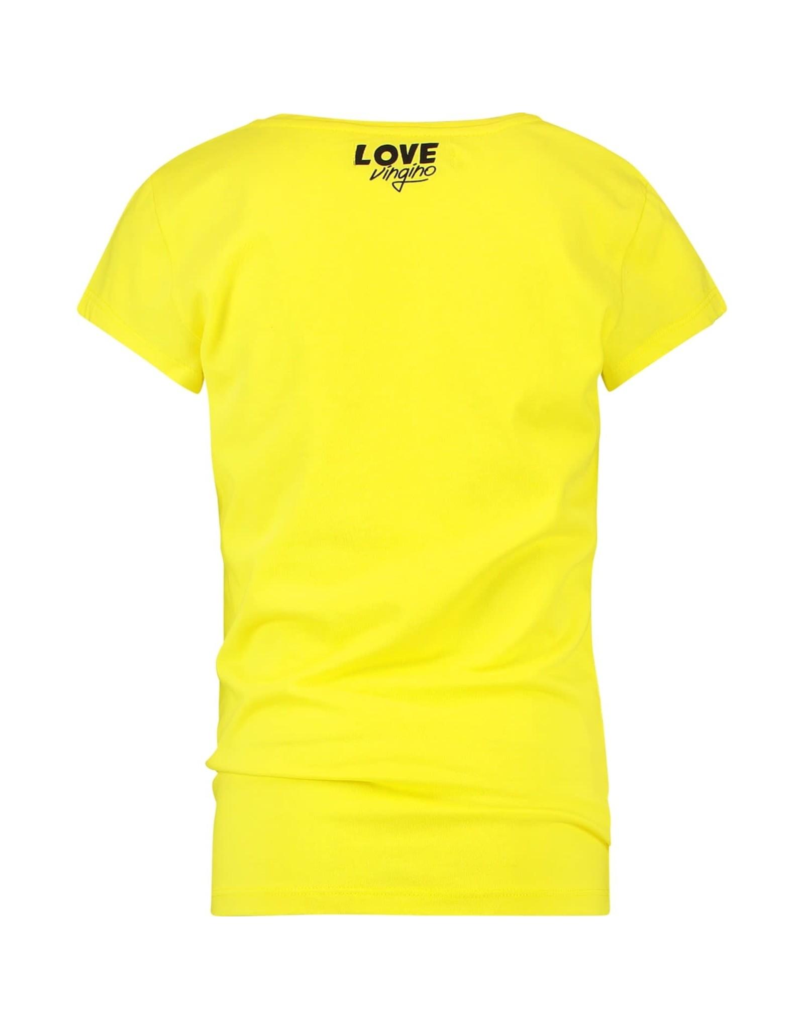 Vingino Vingino meiden t-shirt Helaine Yellow