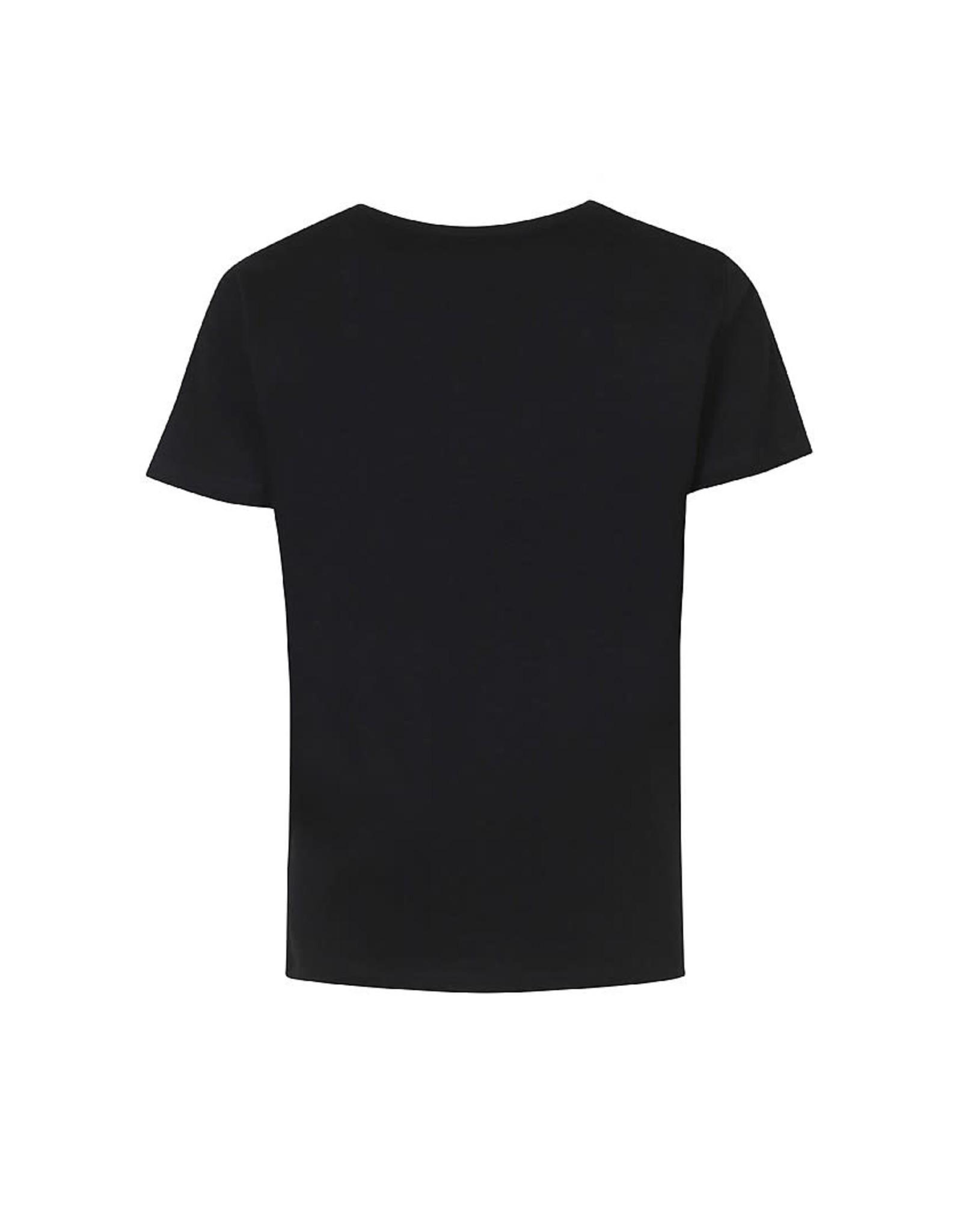 D-Xel D-Xel meiden t-shirt Kanza Black