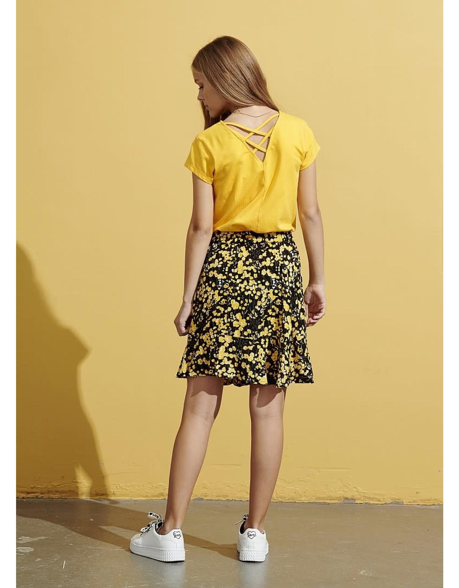 D-Xel D-Xel meiden t-shirt Ammi Yellow