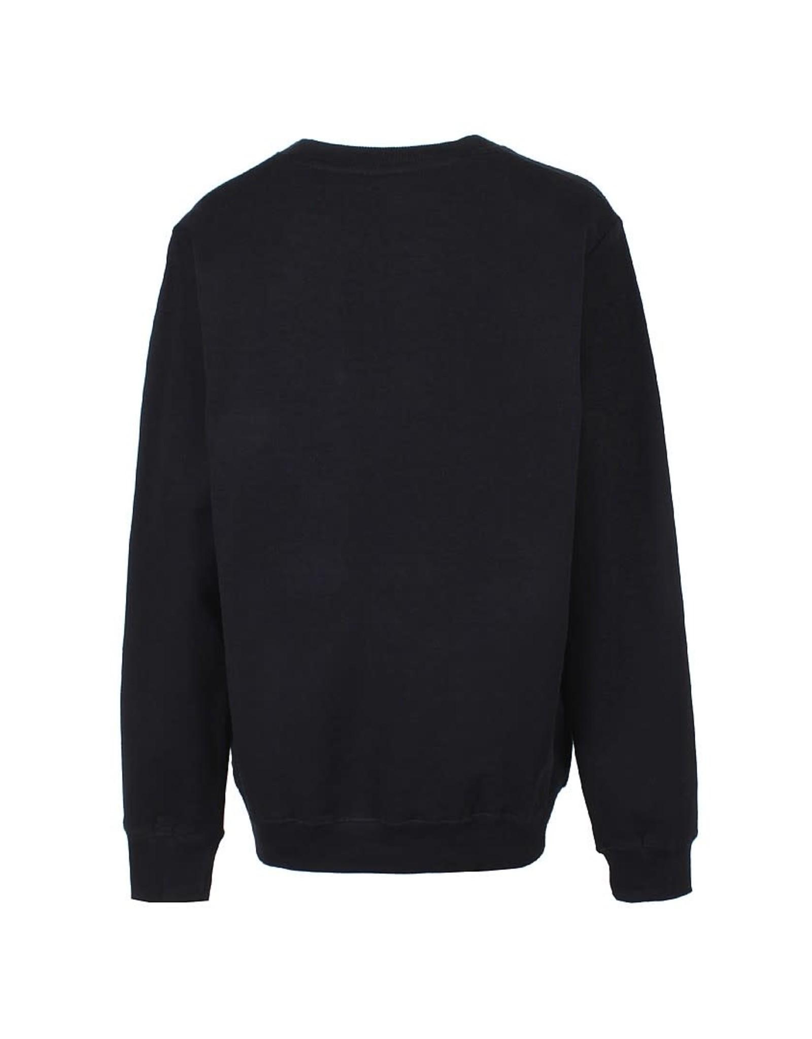 D-Xel D-Xel jongens sweater Denzil Black