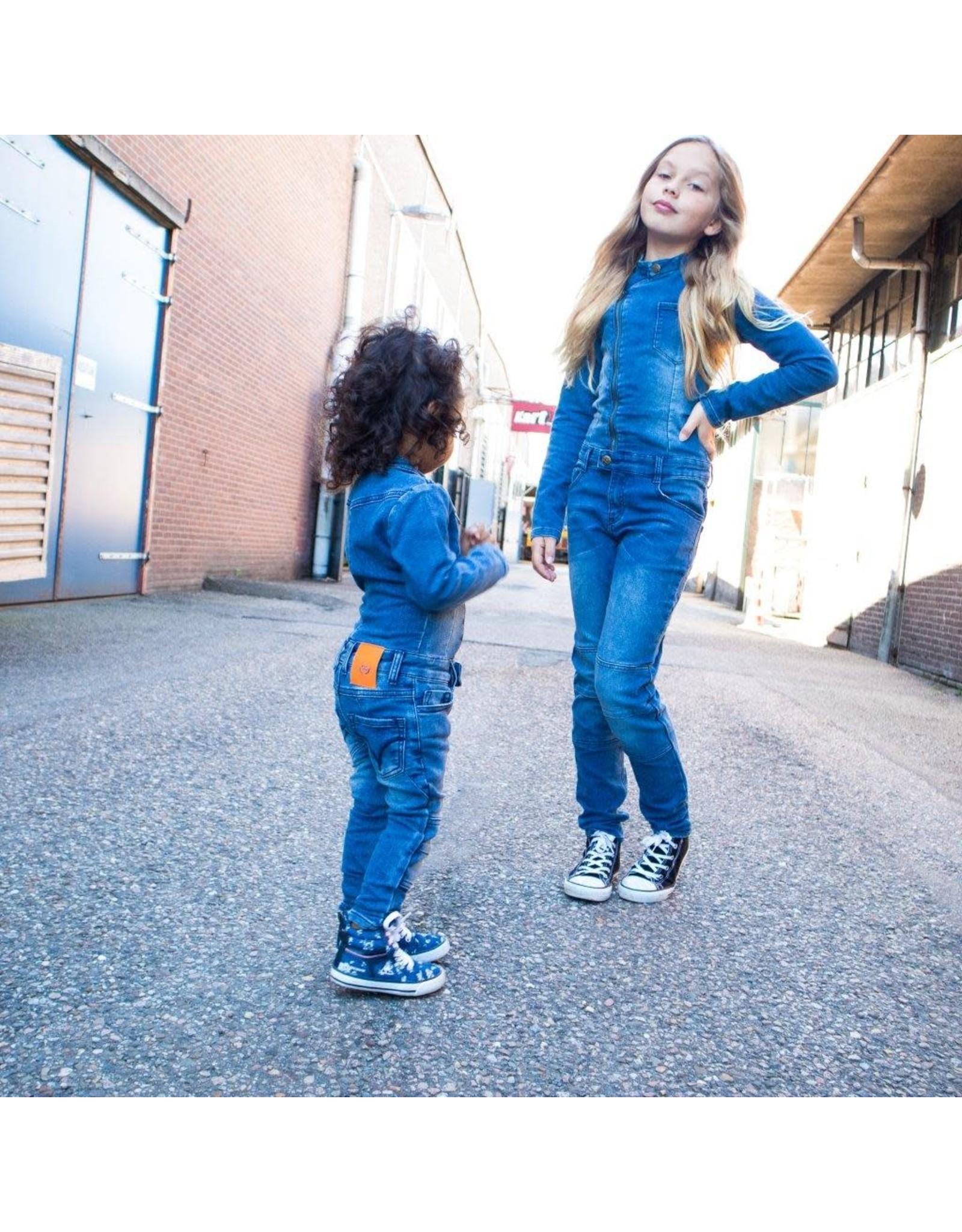DDD DDD meisjes jumpsuit Vipi Blue