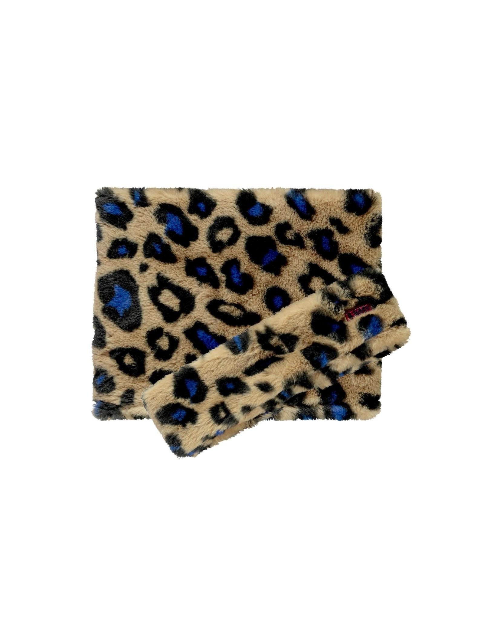 B.Nosy B.Nosy meisjes sjaal en haarband Cobalt Panther Fur