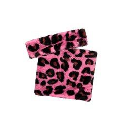 B.Nosy B.Nosy meisjes sjaal en haarband Pink Panther Fur