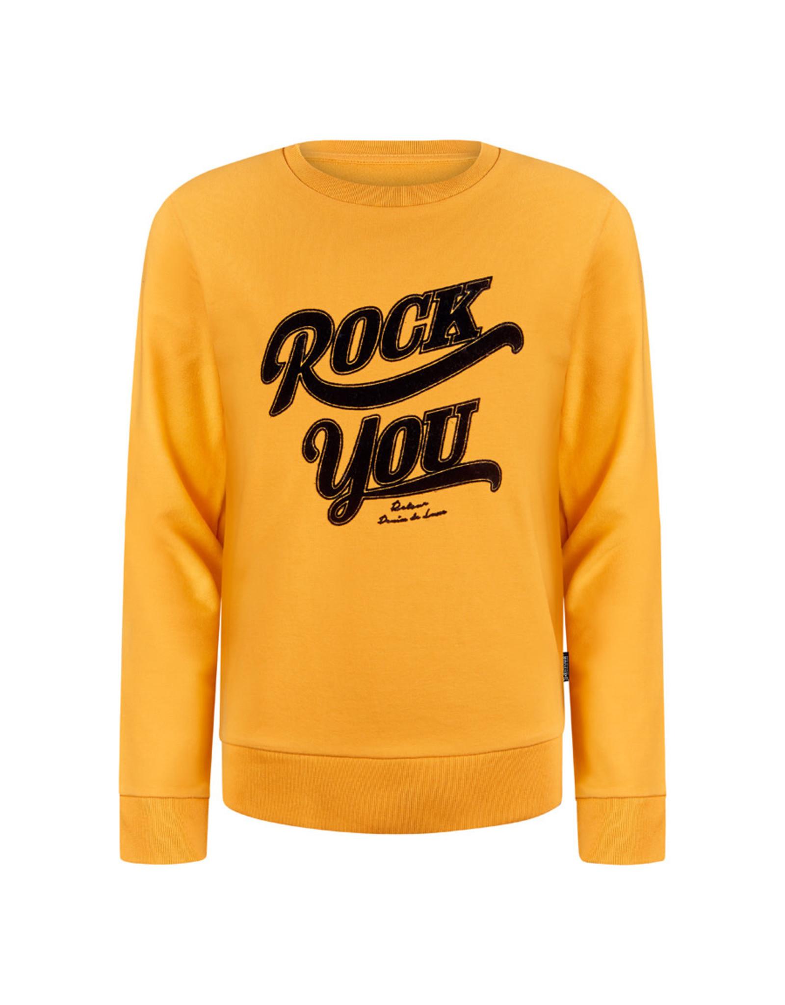 RETOUR Retour meiden sweater Tina Ocre