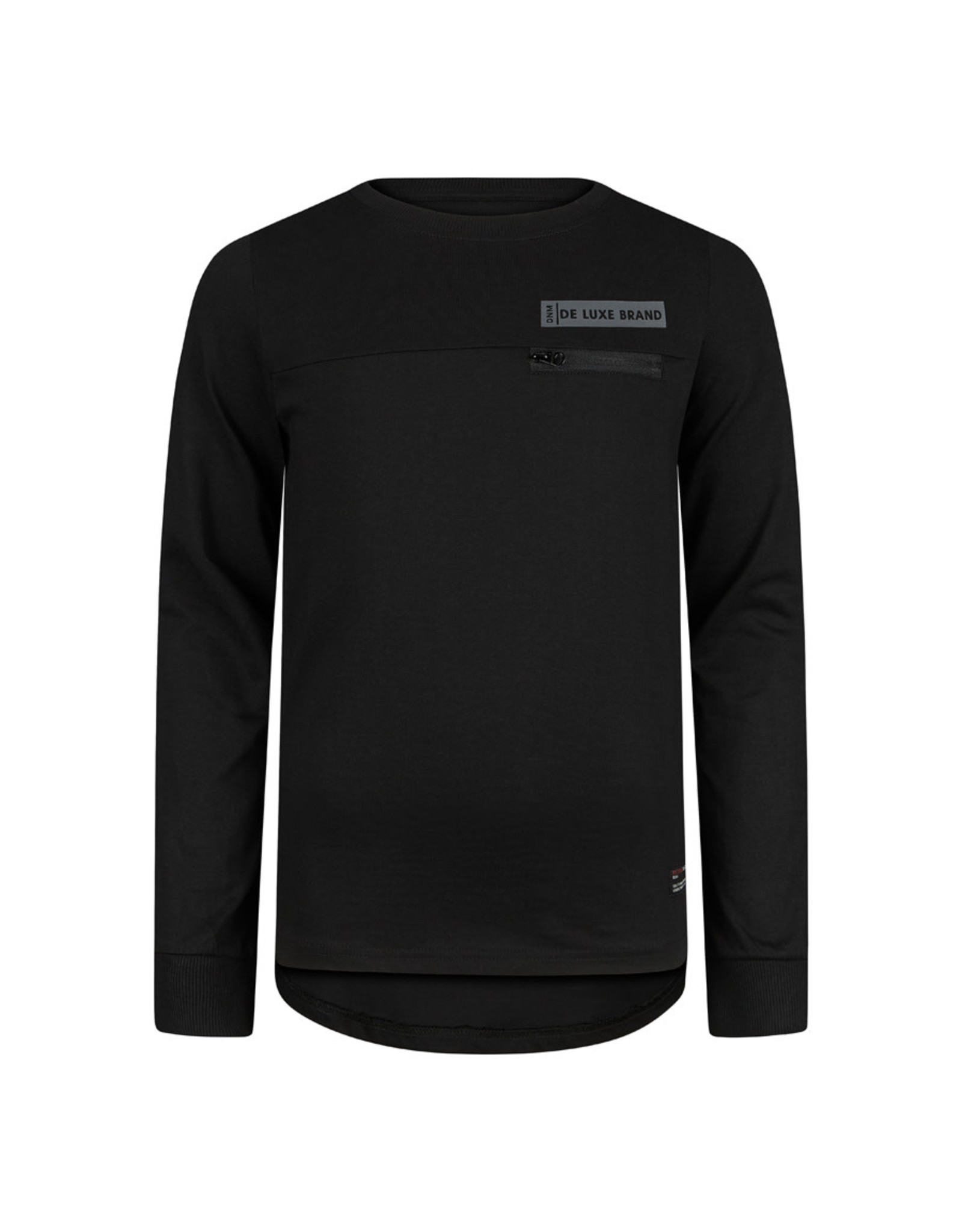 RETOUR Retour jongens sweater Cornelio Black