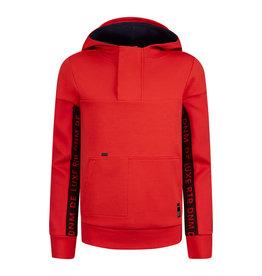 RETOUR Retour jongens hoodie Chaz Red