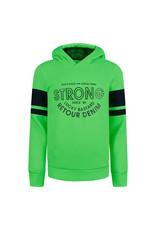 RETOUR Retour jongens hoodie Flip Neon Green