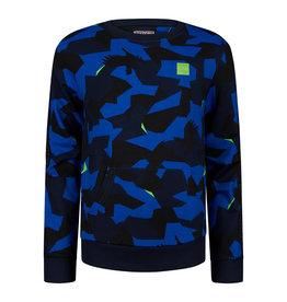 RETOUR Retour jongens sweater Ross Blue