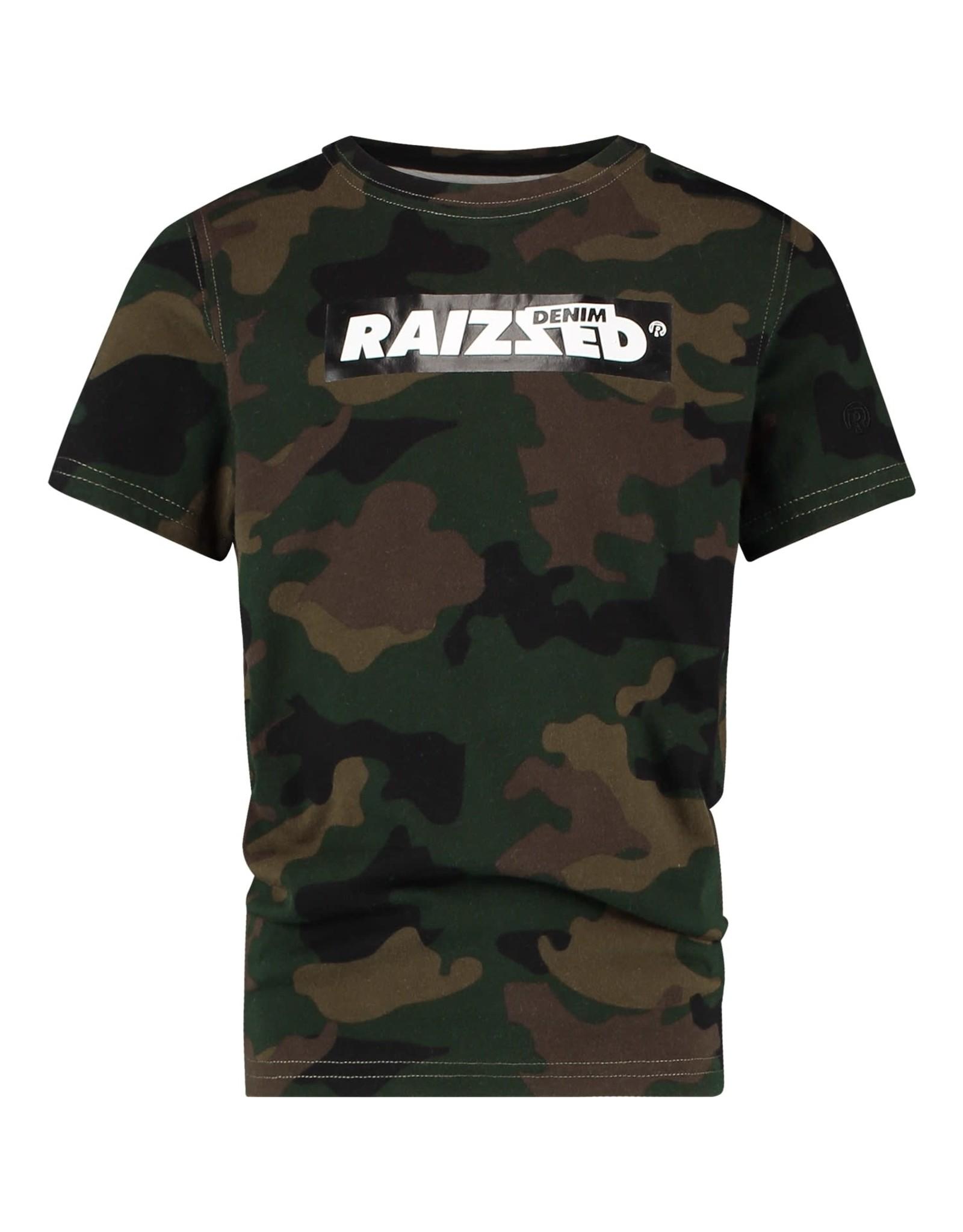 Raizzed Raizzed jongens t-shirt Hanno Camouflage Green