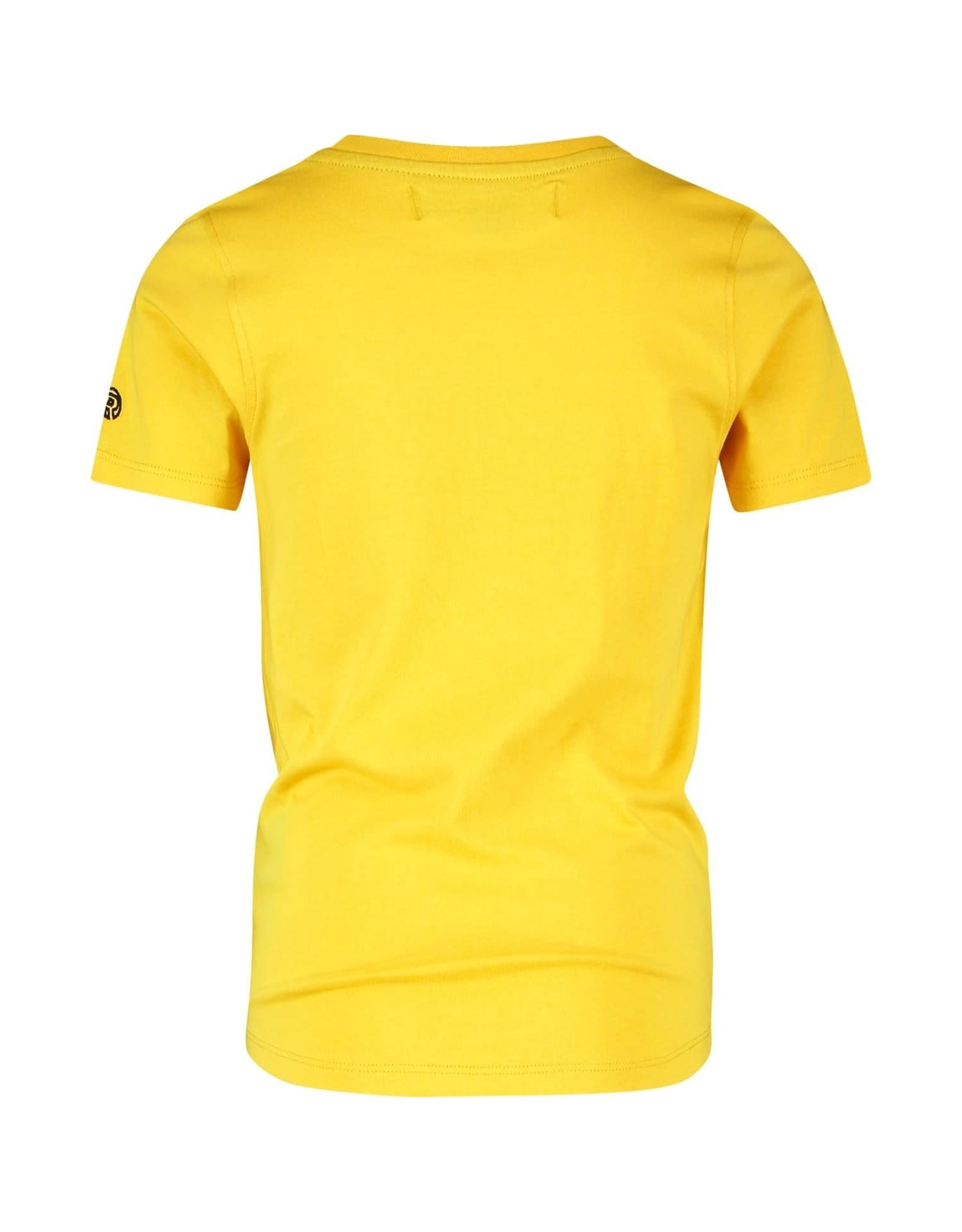 Raizzed Raizzed jongens t-shirt Hamburg Musturd Yellow