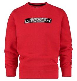 Raizzed Raizzed jongens sweater Numan Blast Red