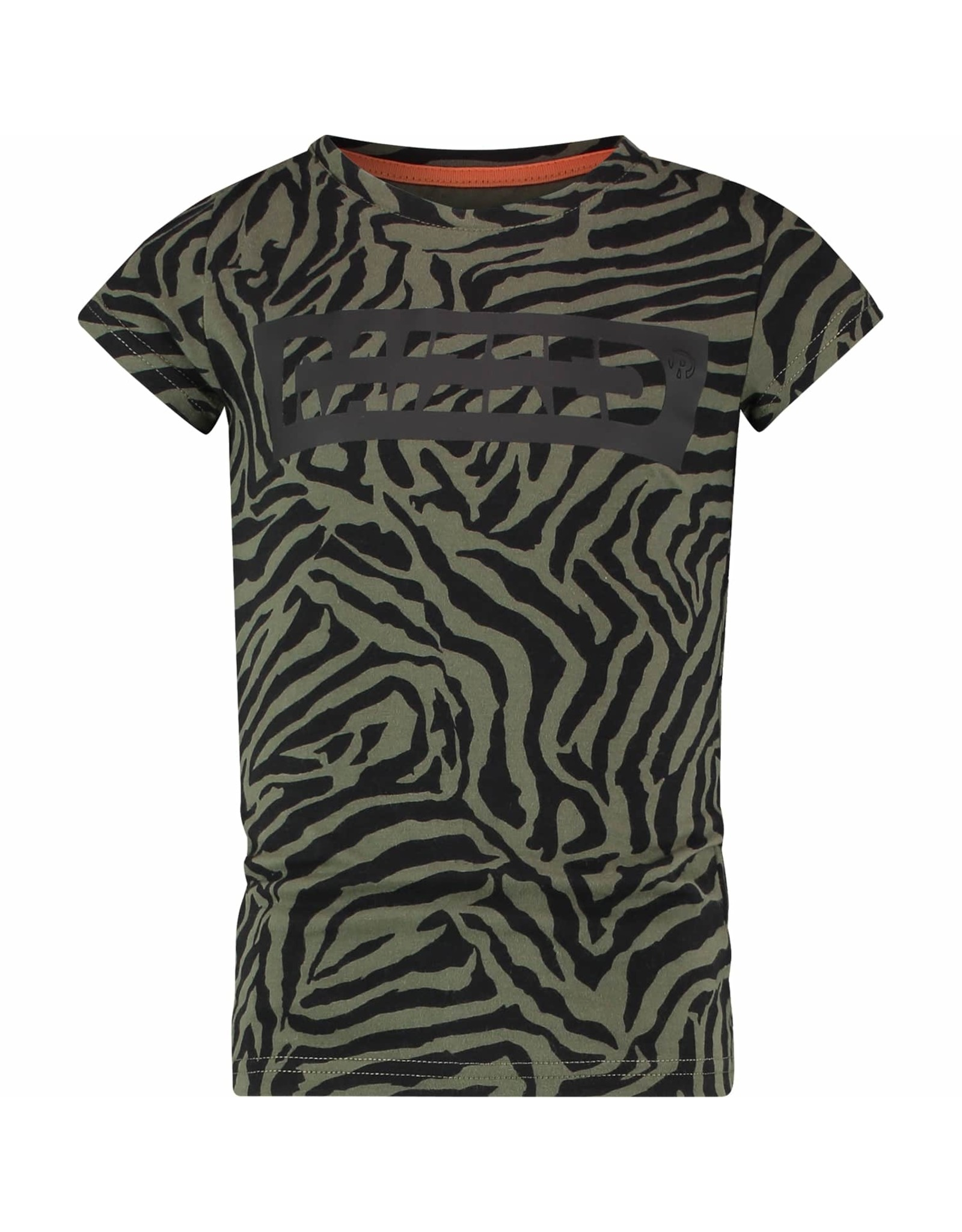 Raizzed Raizzed meiden t-shirt Verona Army Zebra